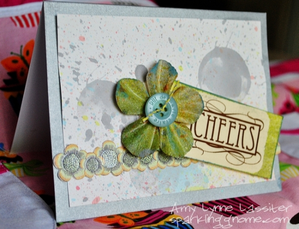 Cheers Birthday Bubble card