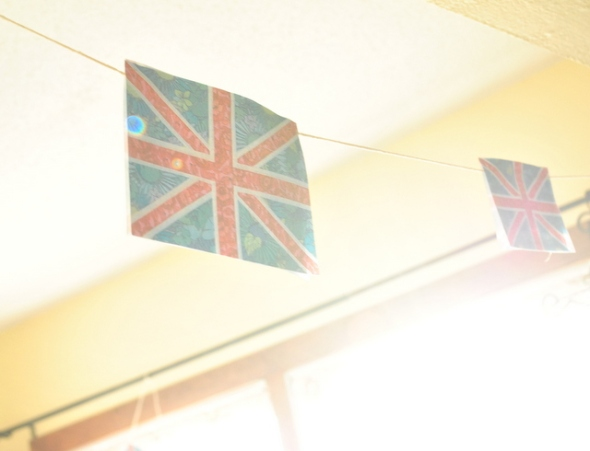 banners, union jack